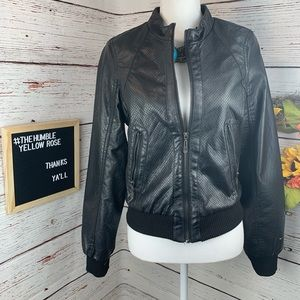 Therapy Faux Leather Moto Jacket